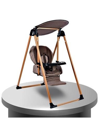 Baby Home Baby Home 870 Gold Mama Sandalyesi Salıncak Bebek Salıncağı Kahve